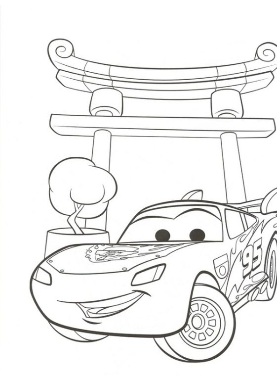 38 coloring pages of Cars 2 on KidsnFuncouk On KidsnFun you