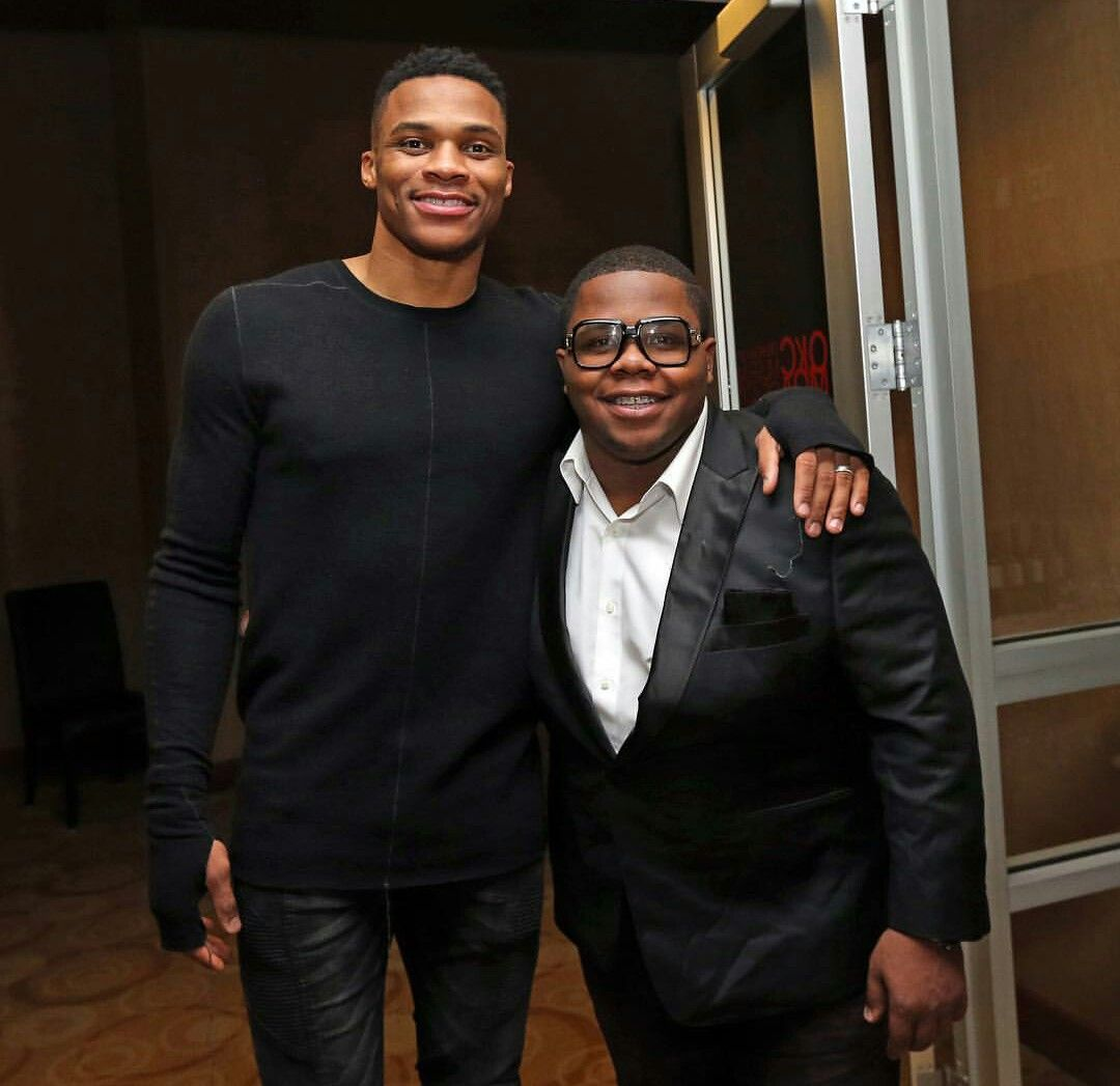 5905218326ad Russell Westbrook   his younger brother.