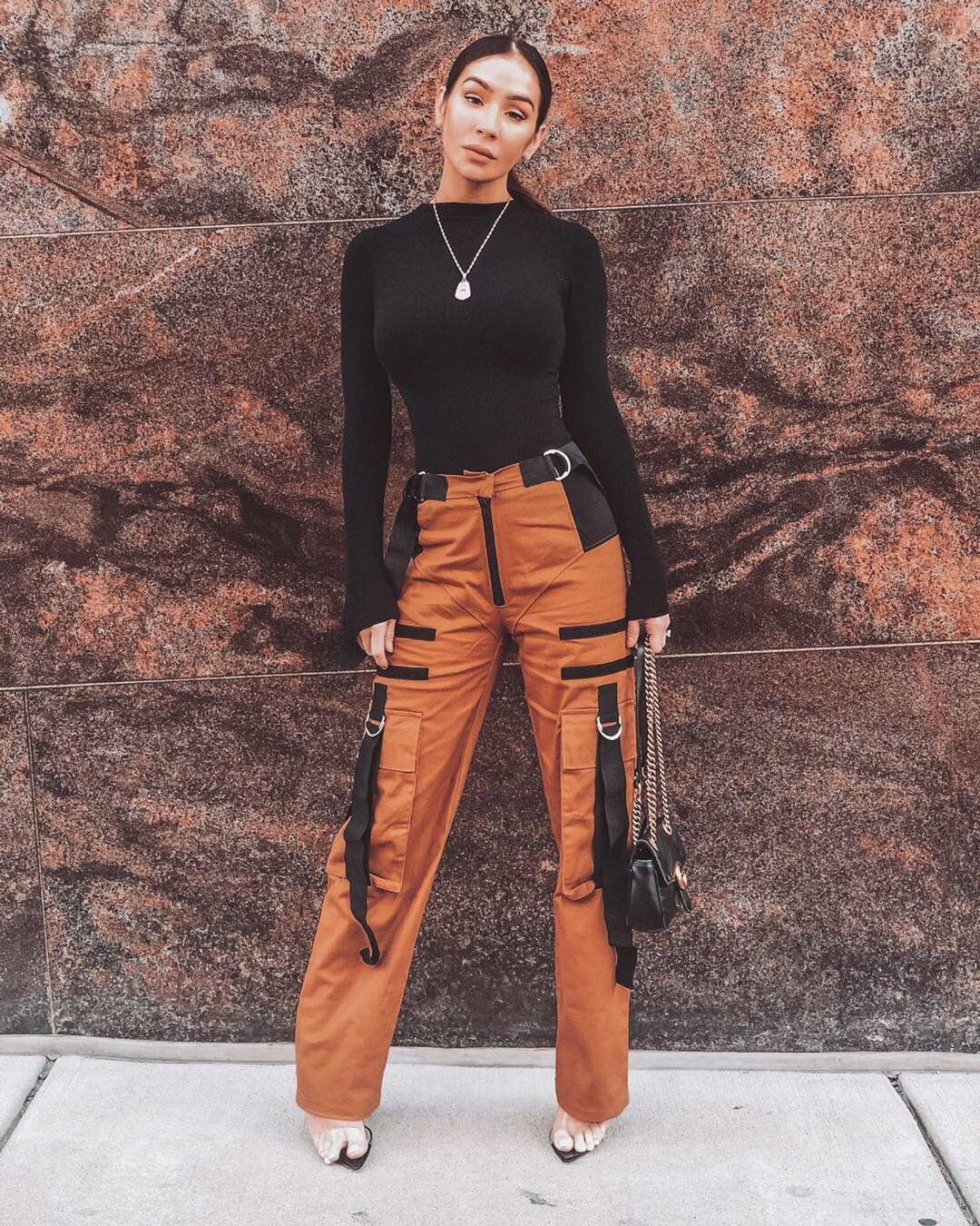 Cargo pants with strap details.   Cargo pants outfit, Cargo