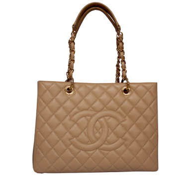 Chanel, GST Shopping Tote, Beige