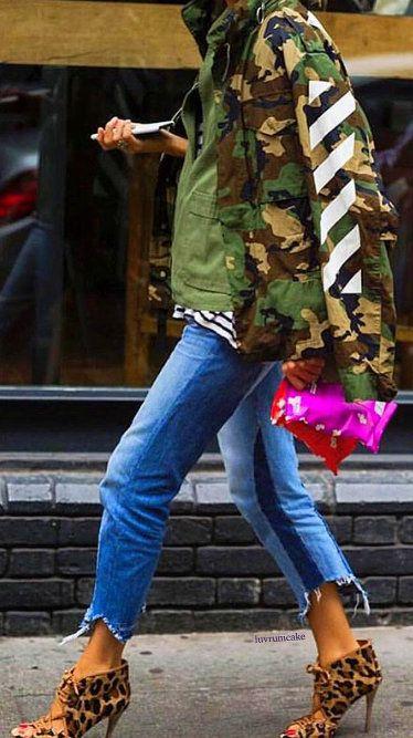 9cebb2445e Off White brand Camo Jacket Camo Fashion