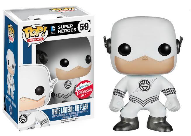 DC Heroes #57 Exclusive White Lantern Superman Funko Pop