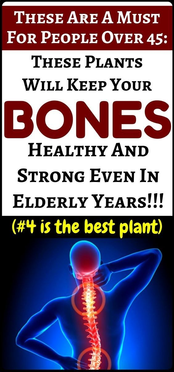Eat these natural plants for strong and healthy bones
