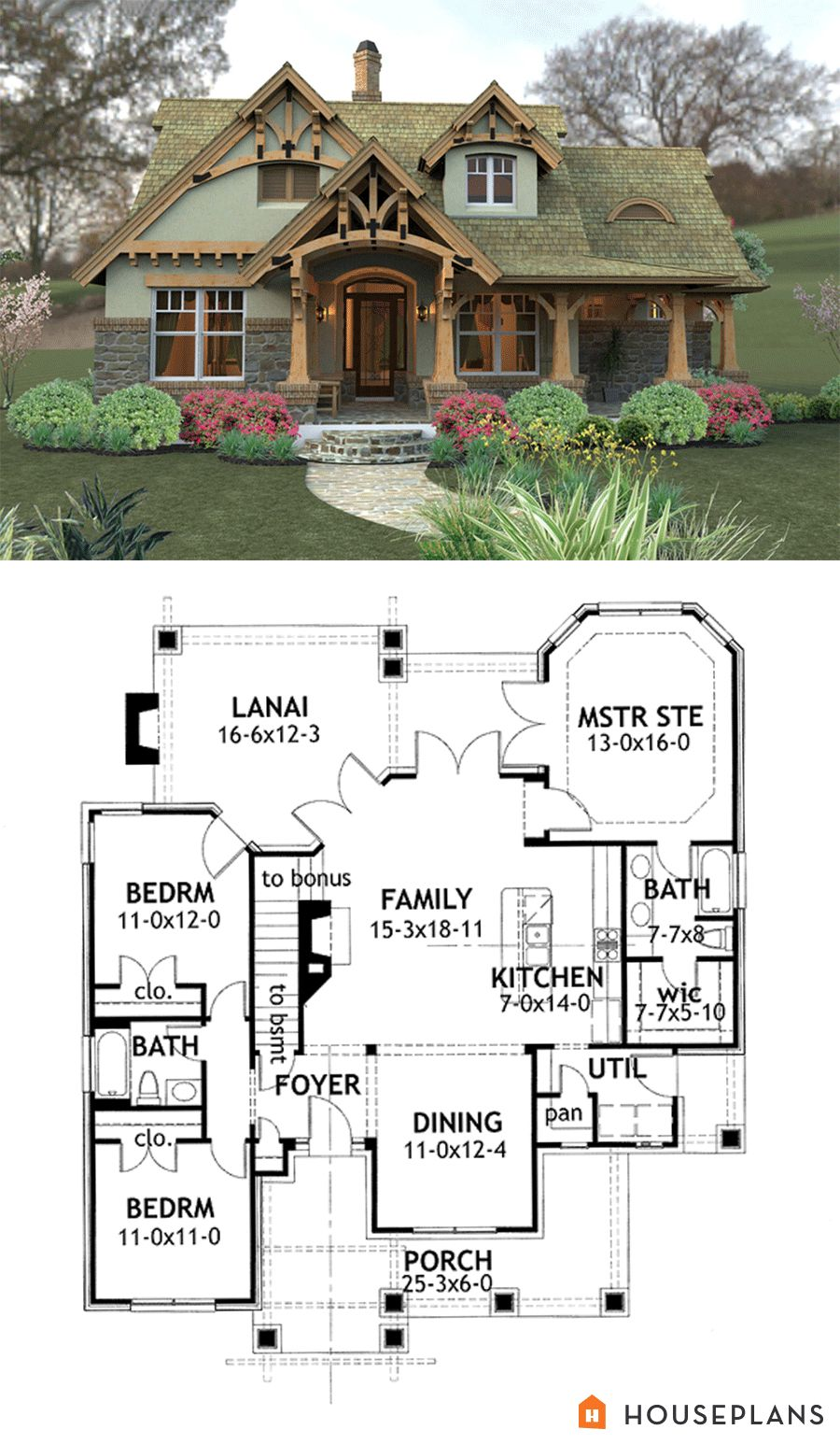 Small Mountain Craftsman House Plans Craftsman House Plans Basement House Plans Mountain House Plans