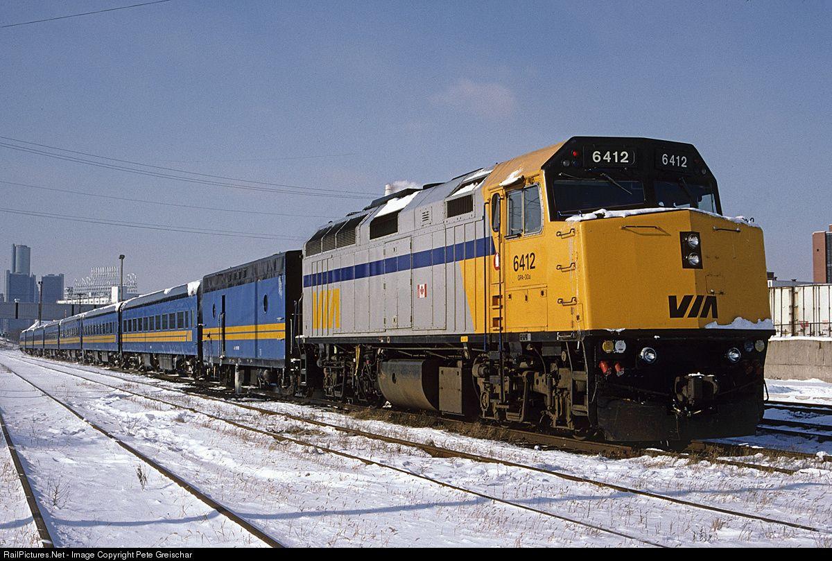 Railpictures net photo via 6412 via rail emd f40ph at for Railpictures