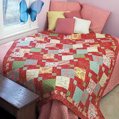 These free and easy baby quilt patterns are perfect projects for ... : easy first quilt - Adamdwight.com
