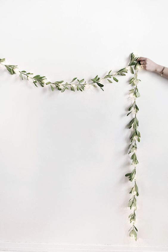 Cool Ways To Use Christmas Lights - DIY String Lights Garland - Best Easy DIY Ideas for String Lights for Room Decoration, Home Decor and Creative DIY Bedroom Lighting - Creative Christmas Light Tutorials with Step by Step Instructions - Creative Crafts and DIY Projects for Teens and Adults http://diyjoy.com/cool-ways-to-use-christmas-lights