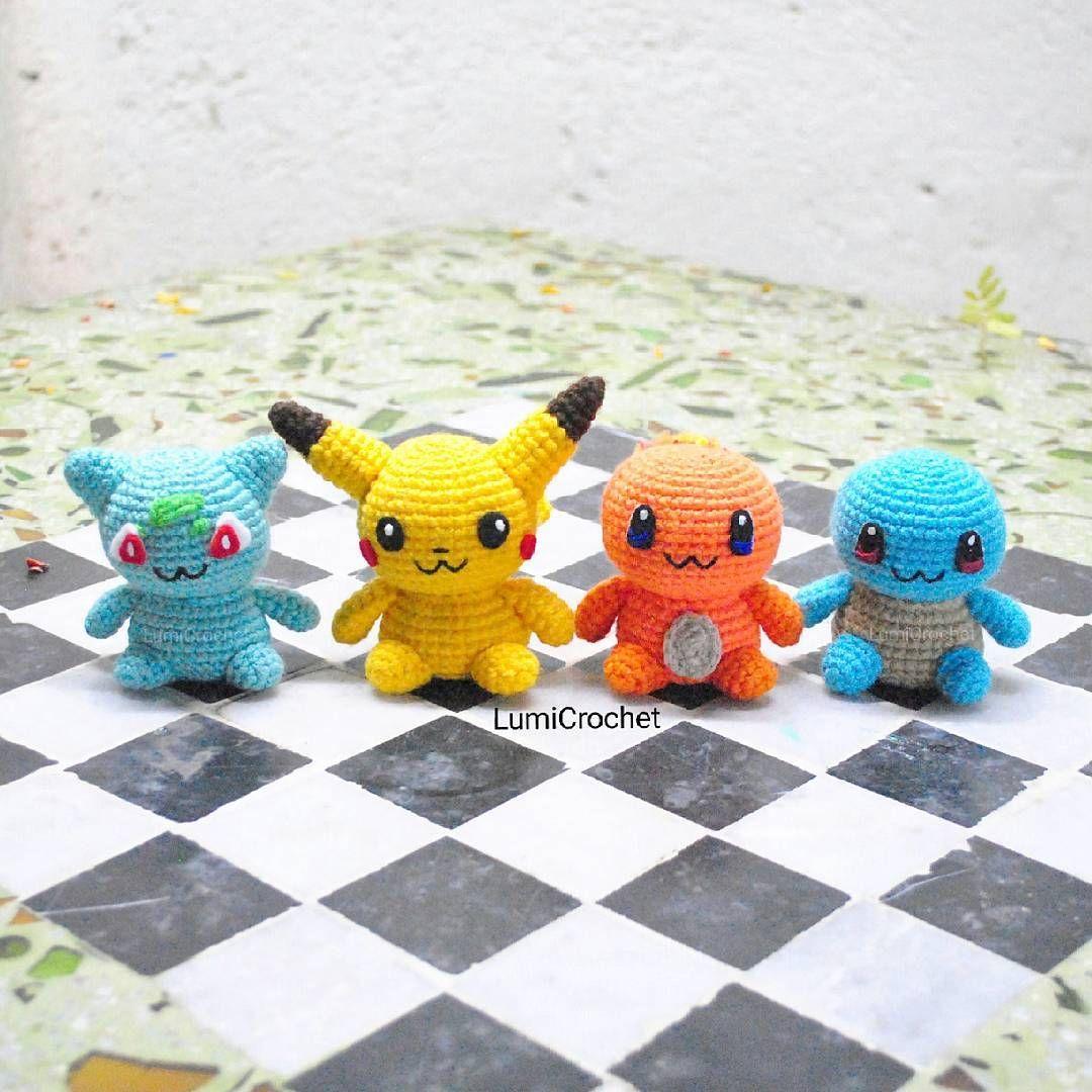 Pikachu and Pokeball Pod pattern | Amigurumis pokemon, Patrones ... | 1080x1080