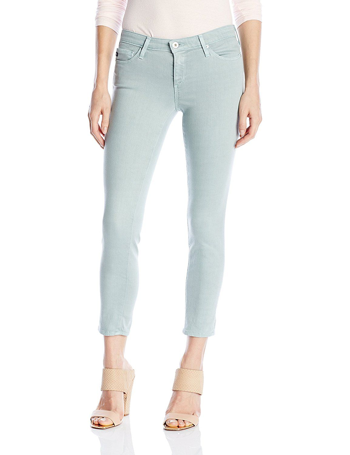 AG Adriano Goldschmied Women's the Stilt Crop ** Click on the image for additional details.