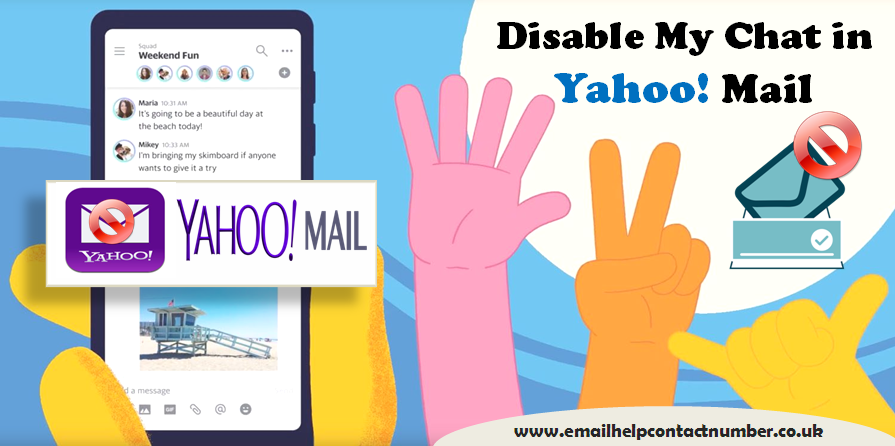 my yahoo account is disabled