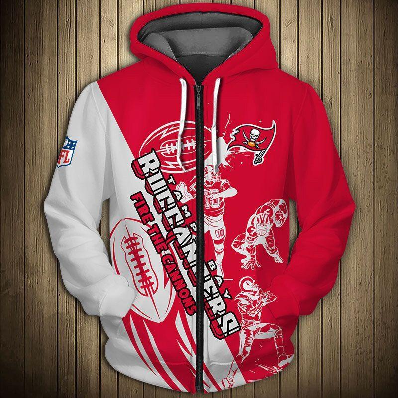 Tampa Bay Buccaneers Hoodie 3d Cartoon Player Cute Sweatshirt Jack Sport Shop Trong 2020