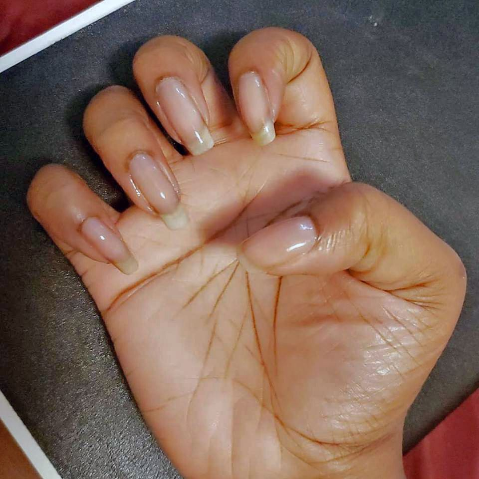 My New Friend Long Natural Nails Natural Nails Natural Nail Designs