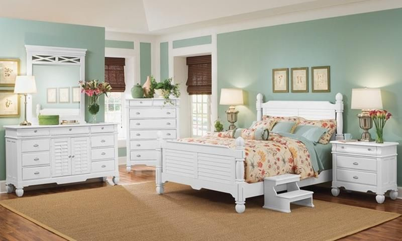 33 Charming Beach Style Bedroom Furniture Ideas ...