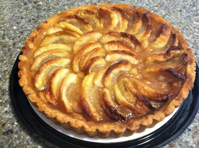 French Apple Tart Dessert To Bring To Christmas Party French Apple Tart French Pie Apple Tart