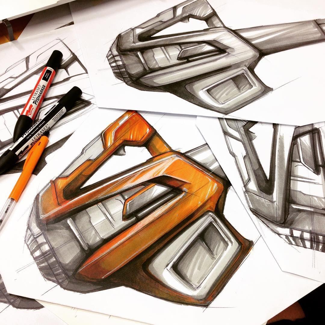 Promarker @masseyuni #sketch #industrialdesign #idsketching #designsyndicate #productdesign