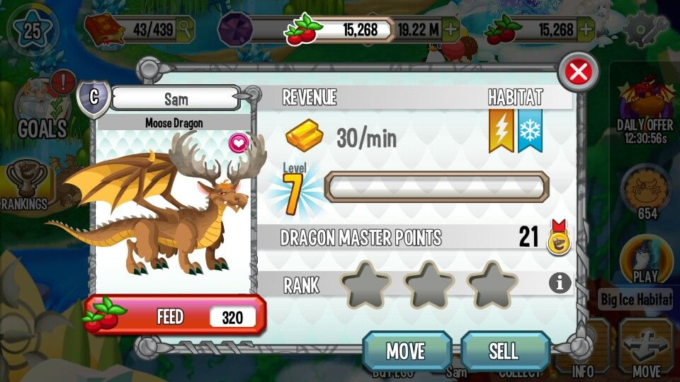 So On Dragon City I Breed A Moose Dragon And I Regret