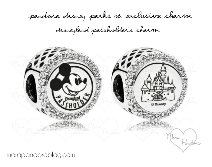 disneyland paris pandora charms 2018