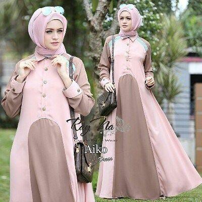Paduan Baju Warna Pink