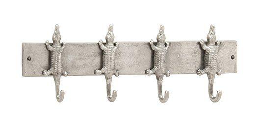 27 Silver Alligator Crocodile Wall Hook Hat Coat Rack Jungle Decor Item Stor 3sillylittlepickles Ghdta973233227 Aluminum Wall Wall Hooks Coat Racks And Hooks