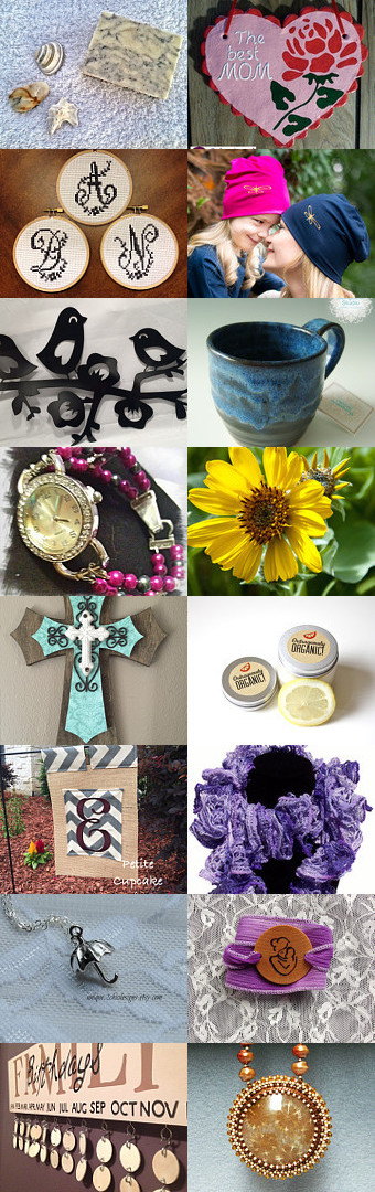 Mother's Day Beautiful Gifts Treasury by Laura Hoffman on Etsy--Pinned with TreasuryPin.com