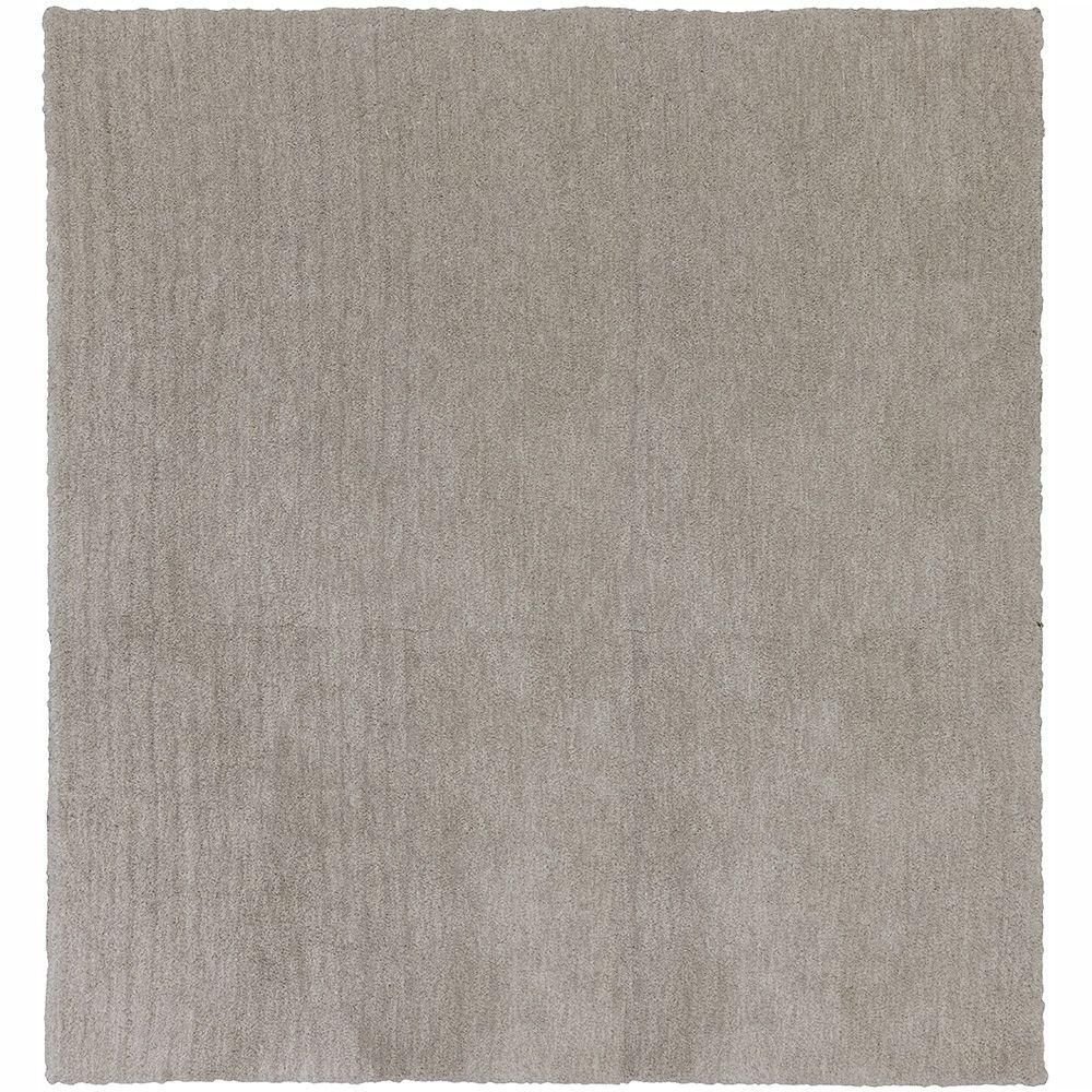 Home Decorators Collection Ethereal Shag Gray 8 Ft. X 8 Ft
