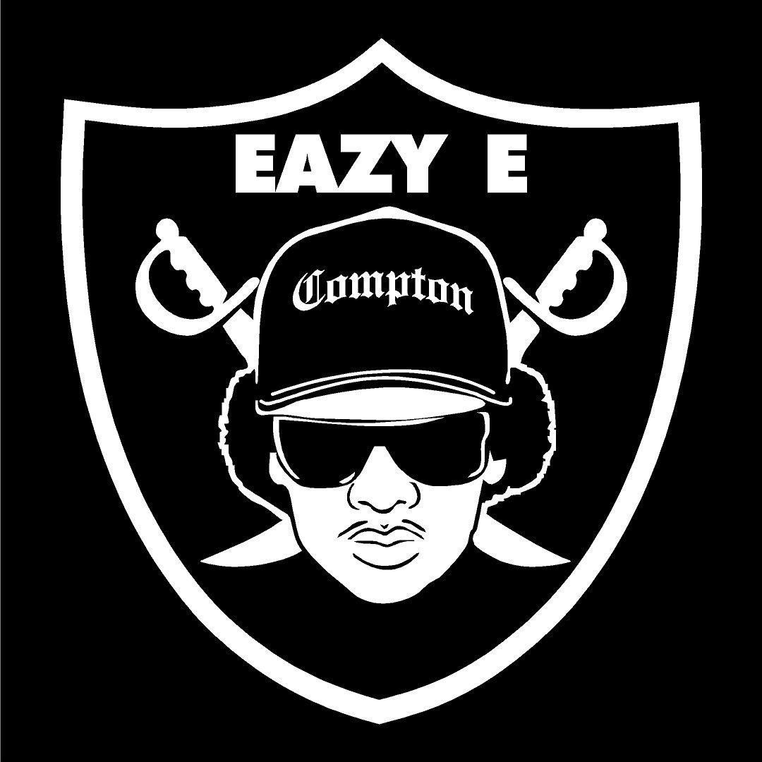 Eazy e shield raiders 4 life decal window sticker window