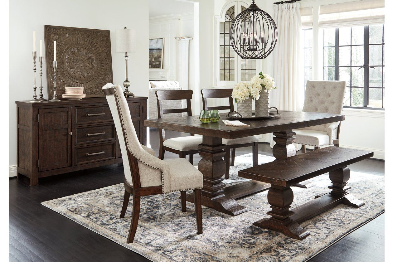 Hillcott Dining Room Table Ashley Furniture Homestore Brown Dining Room Table Dark Dining Room Dark Brown Dining Table