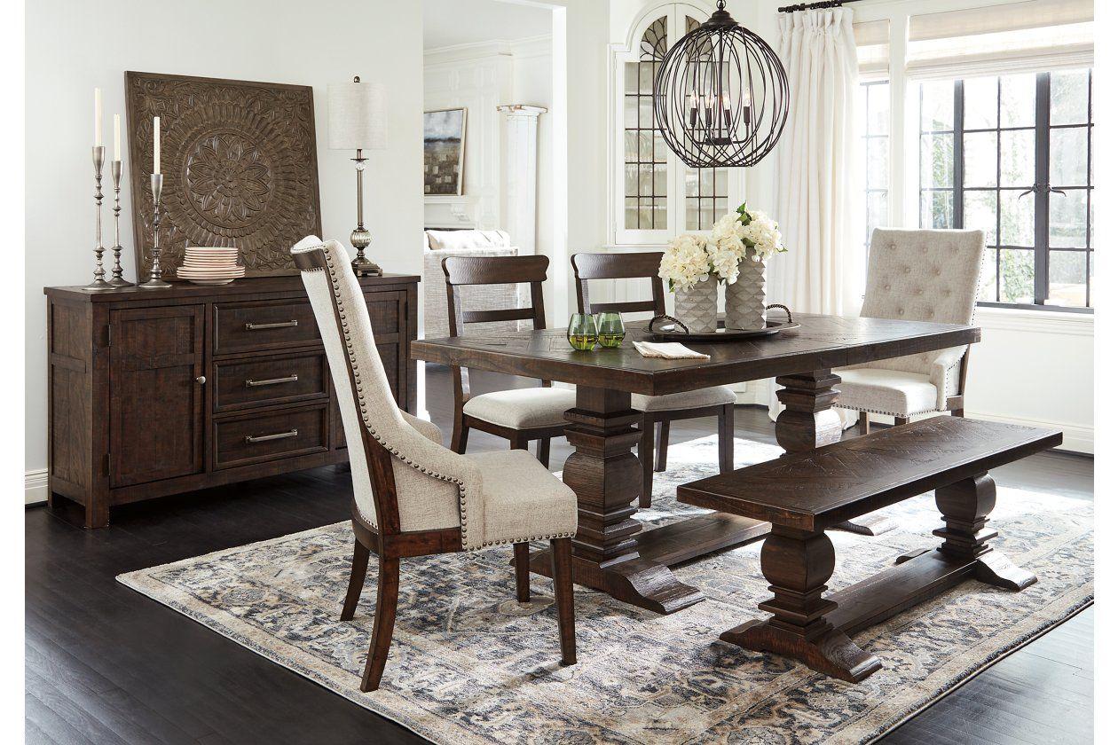 Hillcott Dining Room Table Ashley Furniture Homestore Brown Dining Room Table Brown Dining Table Dark Dining Room