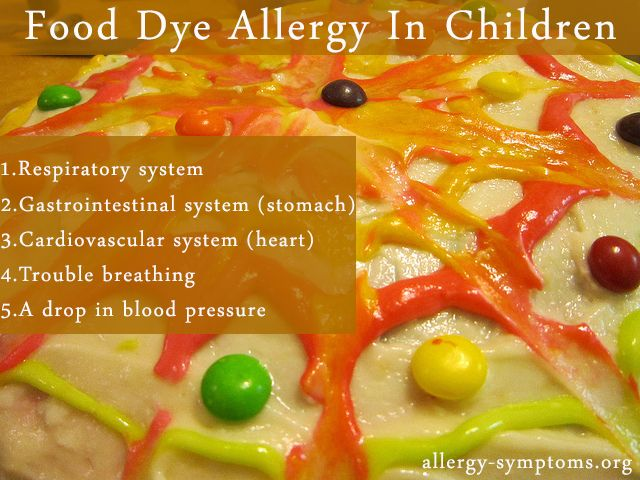Food Dye Allergy In Children | Allergy symptoms, Allergies and ...