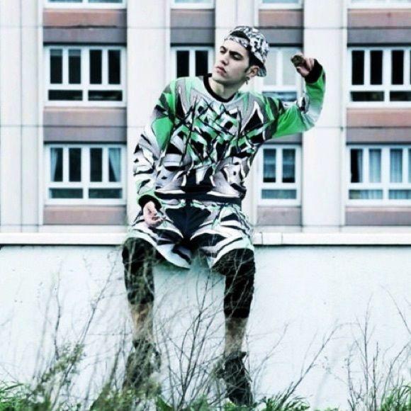 ASSK Long Sleeve Jersey #longsleeve #ASSK #jersey #streetwear #alloverprint #green #graphics #print #sportswear #sporty #sportyspice #unisex ASSK Tops Tees - Long Sleeve