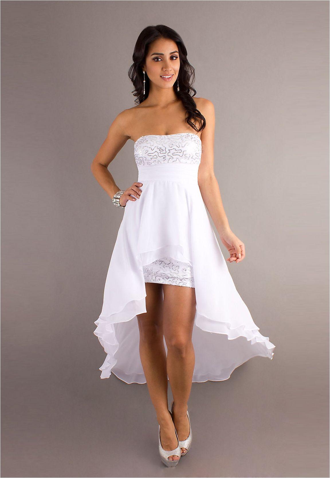 inspiration high low summer wedding dresses summer