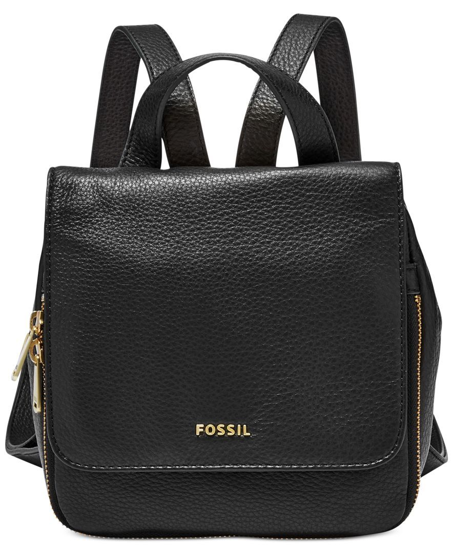 5c1fe481ec8 Fossil Preston Small Leather Backpack | To Wear in 2019 | Small ...