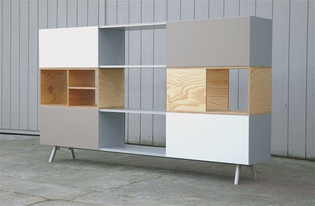 Maarten Van Severen Kast Unit For Vitra 2005 Furniture