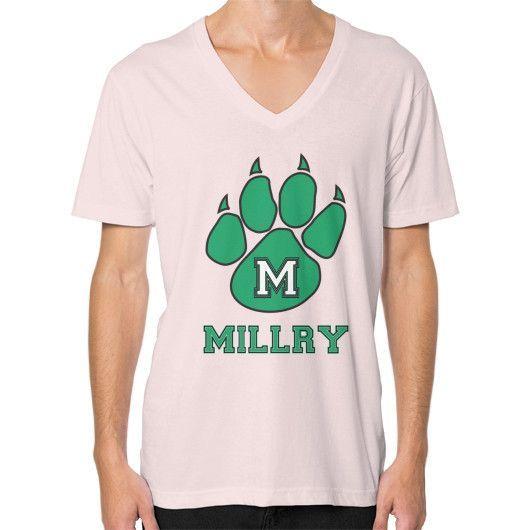Millry High School V-Neck (on man)