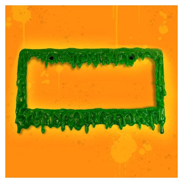 Halloween 2020 License Plates Slime Time License Plate Frame in 2020 | Plate frames, License