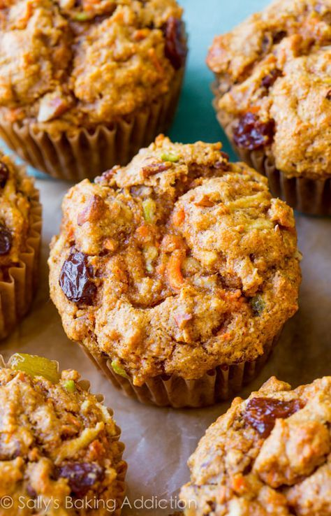 Sally's Baking Addiction Simple Morning Glory Muffins ...