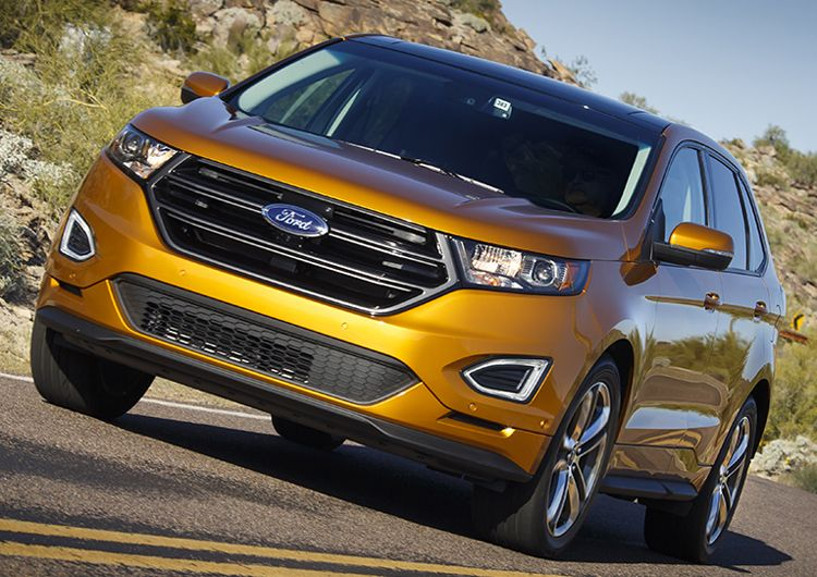 Ford Edge Ford Advances The Suv Art And Science