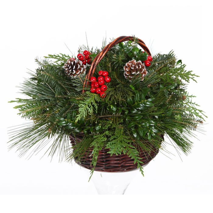 a christmas basket is a beautiful and versatile addition to any home for holiday decorations simply place your basket on a mantelpiece the dining