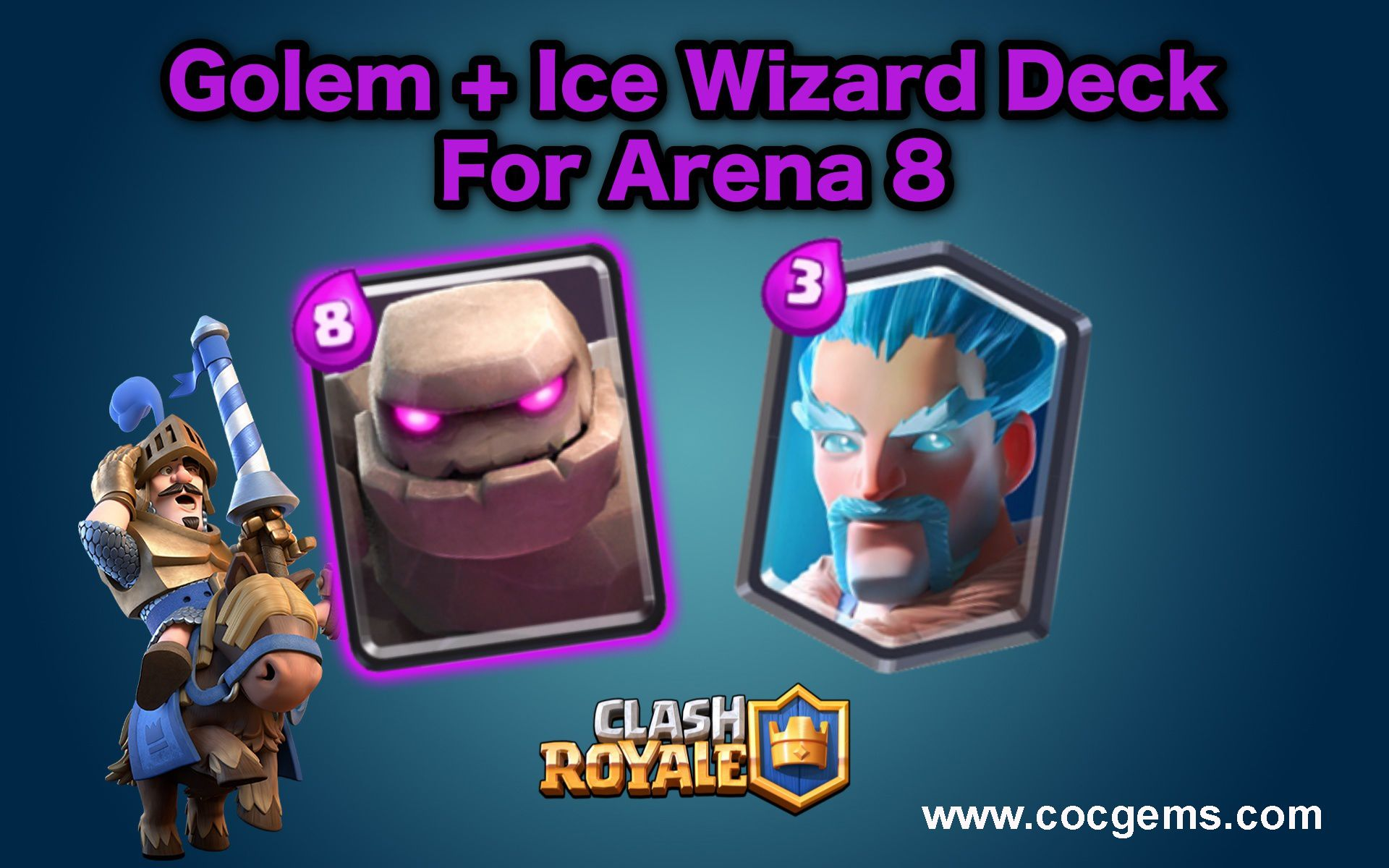 Clash Royale Card Ice Golem Comes Tips For Deploying Clash Royale Free Books Free Gems