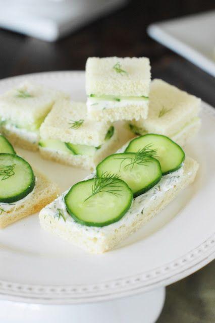Cucumber Tea Sandwiches 3 Spreads Amp 3 Ways Tearoom
