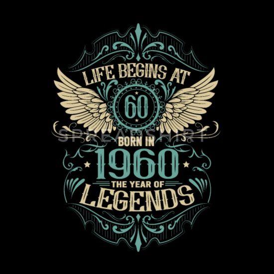 '60 birthday born in 1960. Gift idea for the 60th' Men's Premium T-Shirt