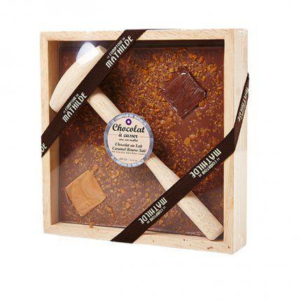 Le Comptoir De Mathilde Chocolat A Casser Au Beurre Sale Chez The Conran Shop Le Comptoir De Mathilde Chocolat Au Lait Chocolat