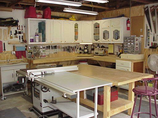 Woodshop Storage Cabinets Utility Cabinet System For Your Basement