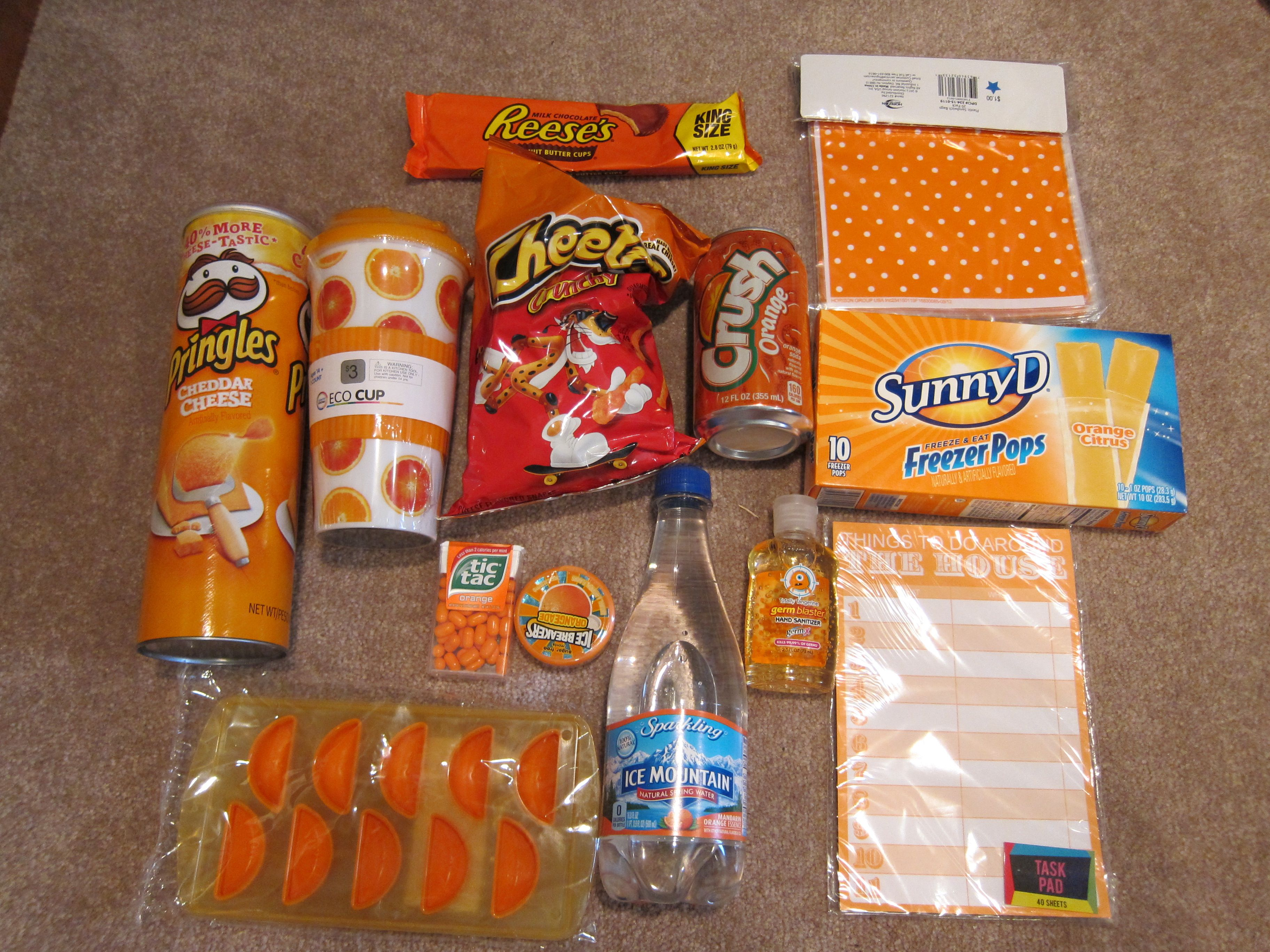 Orange Goodies For The Adults You Glad Its Summer Bags
