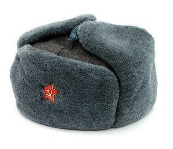 Authentic Soviet Russian Army Soldier Winter Hat 7f76f09cb67c