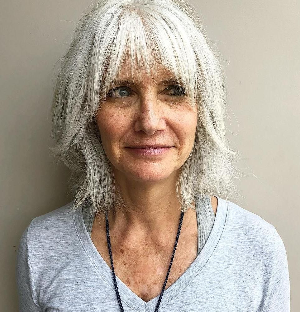 30 Stylish Hairstyles and Haircuts for Older Women to Rock in 2020