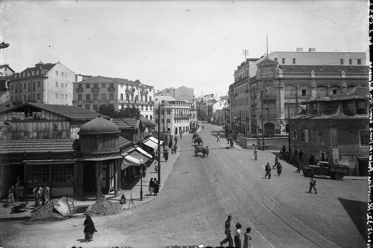 Mercado de Alcântara, Lisboa, s.d.