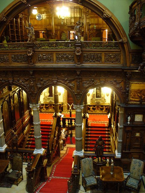 Peles Castle Interior Places I D Love To Visit Peles