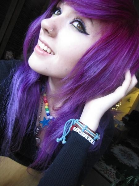 Leda purple hair | Hair | Leda monster bunny, Leda muir ...