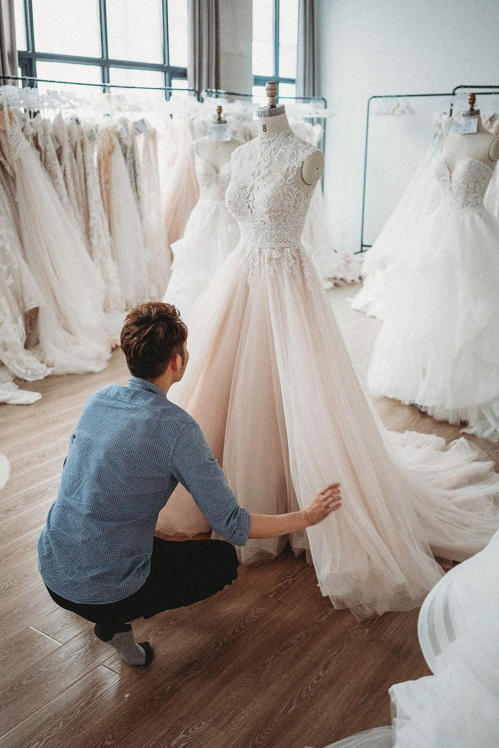 Hand Sewn Carefully Crafted Elegance From Our China Based Design Team This Is Allure We Love The St In 2020 Allure Bridal Bridal Designs Wedding Dress Shopping